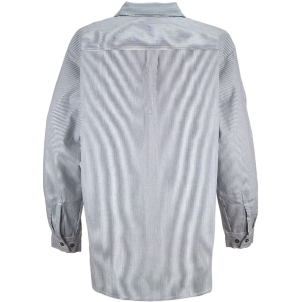 Hickory Shirt by Prison Blues -- The hickory shirt has a back yoke and two button cuffs.