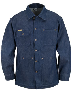 Yard Coat, Rigid Blue