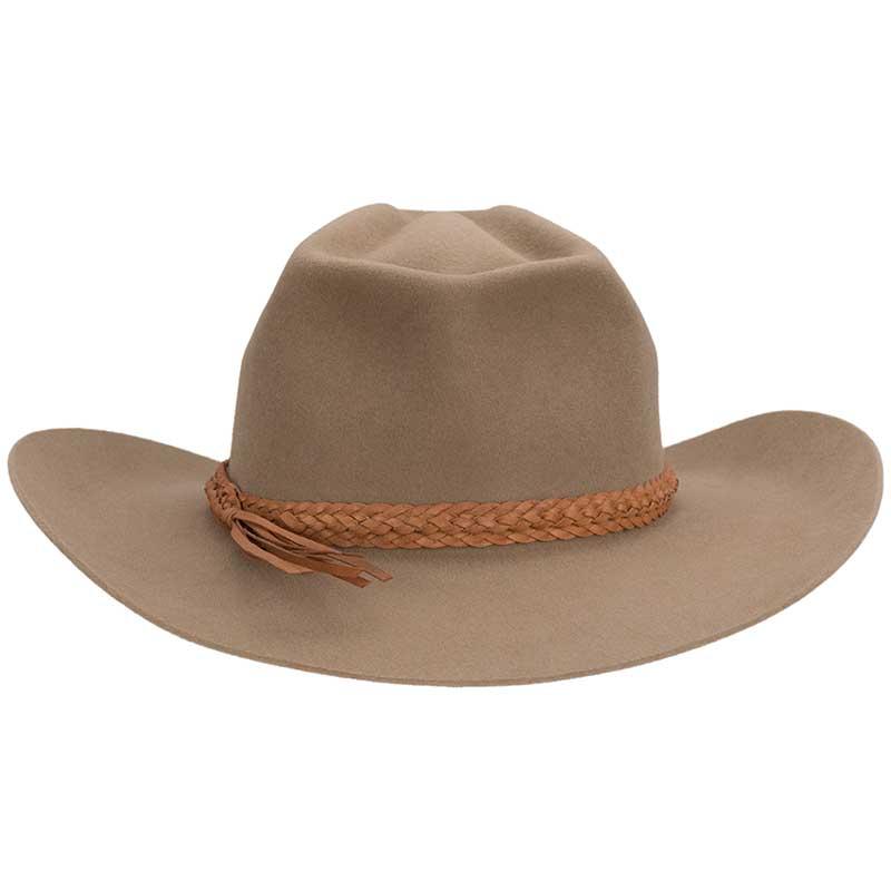 Lizard Head Hat, Sahara, Back View
