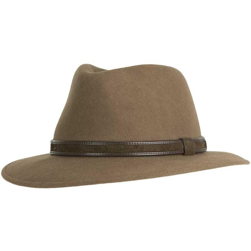 Wool Felt Hiker Hat, Crushable