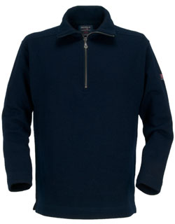 Marine Sweater, Zip Turtleneck