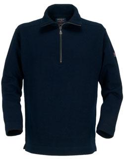 Marine Sweater, Zip Turtleneck