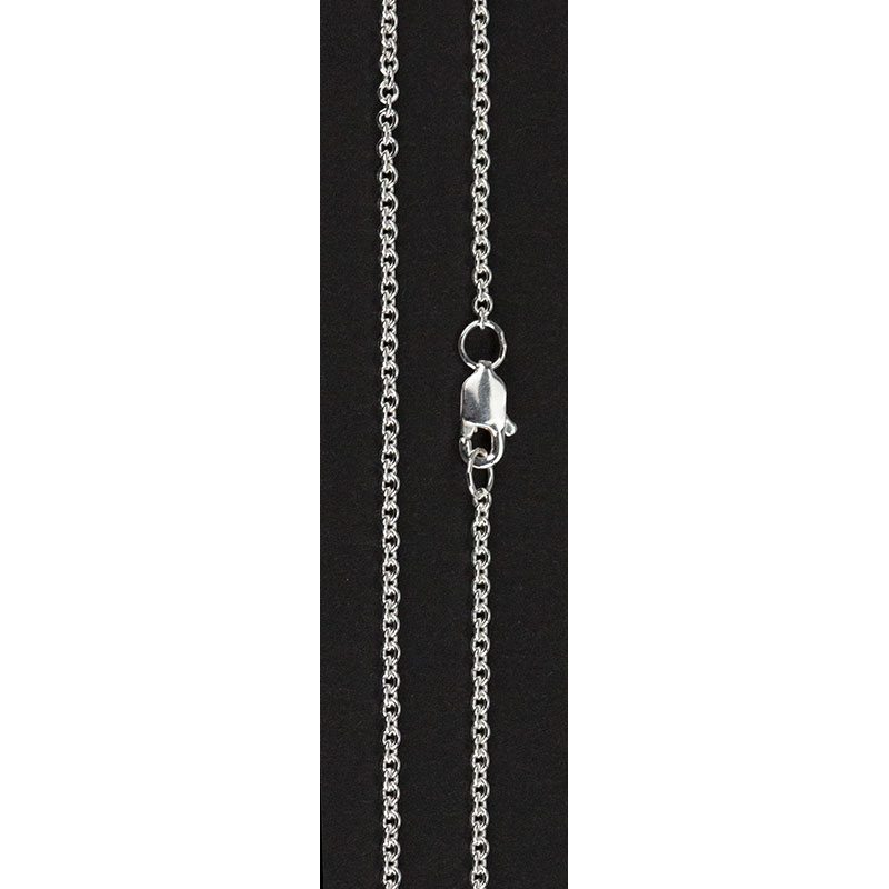 Sterling Silver Cable Chain, 18 inches