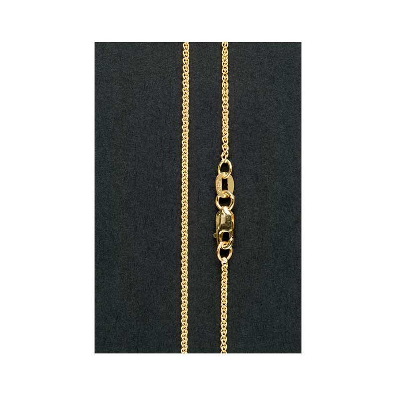 Gold Wheat Chain, 18 inch, Light