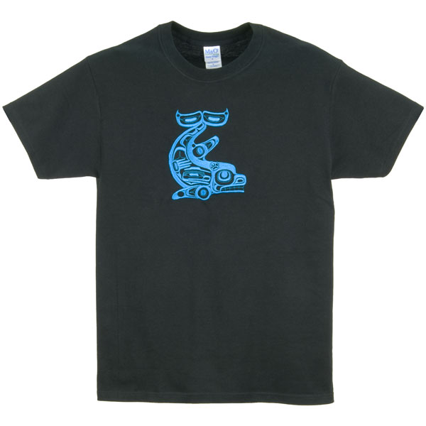 Killer Whale Embroidered T-Shirt