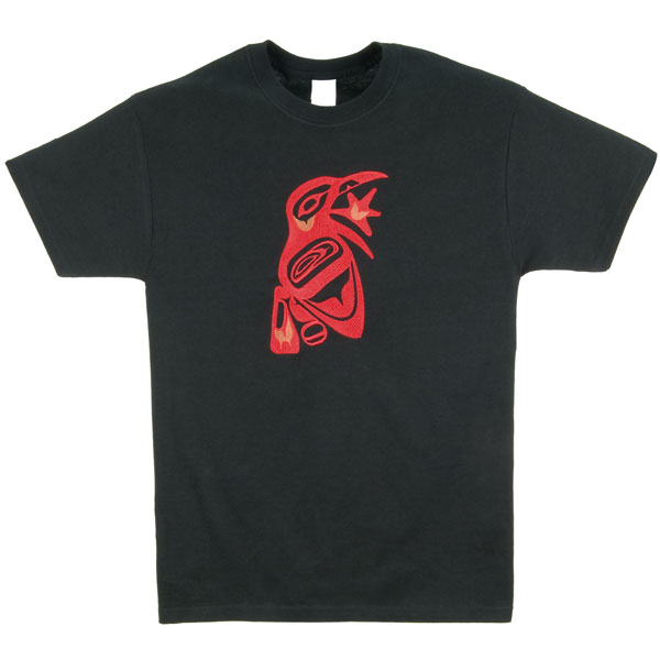 Raven & Sun Embroidered T-Shirt