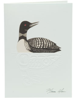 Loon Notecards