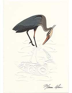 Heron Notecards