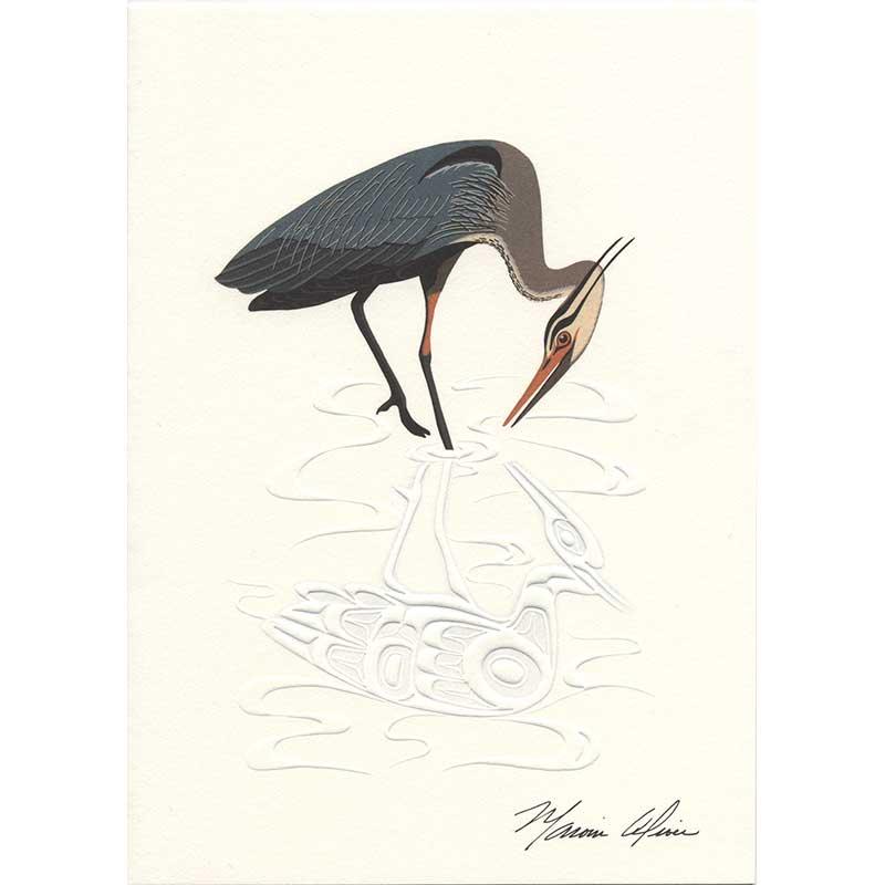 Heron Notecards