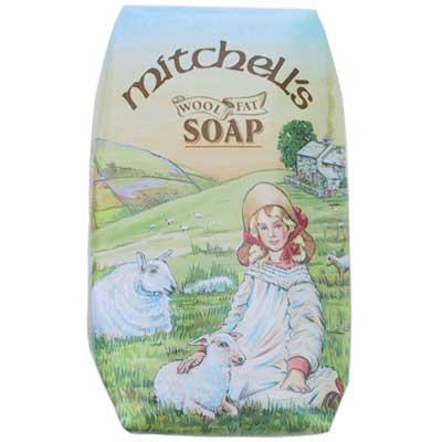 Mitchell's Wool Fat Soap, Single Bar
