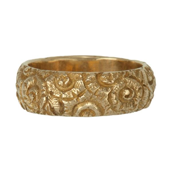 Kalgoorlie Ring, 14 kt. Yellow Gold