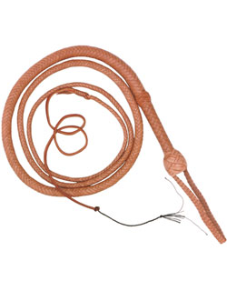 Bullwhip, 8 ft., Natural Tan