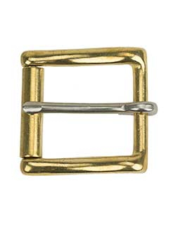 Plain Brass Buckle, fits No. 802 Belt