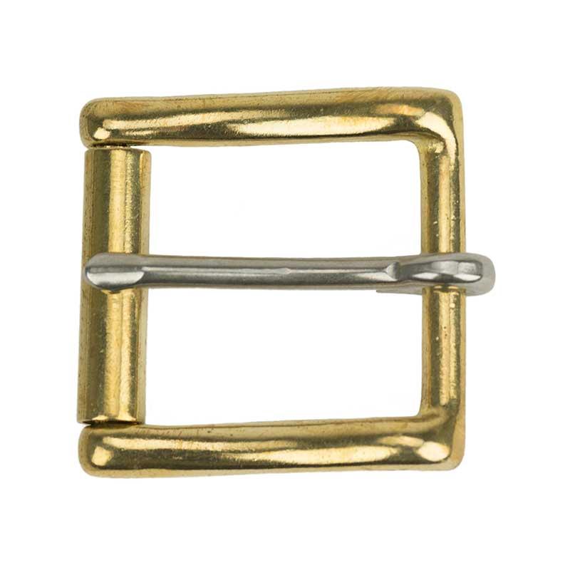 Plain Brass Buckle, fits No. 802 Belt