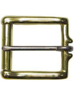 Plain Brass Buckle, fits No. 803 Belt