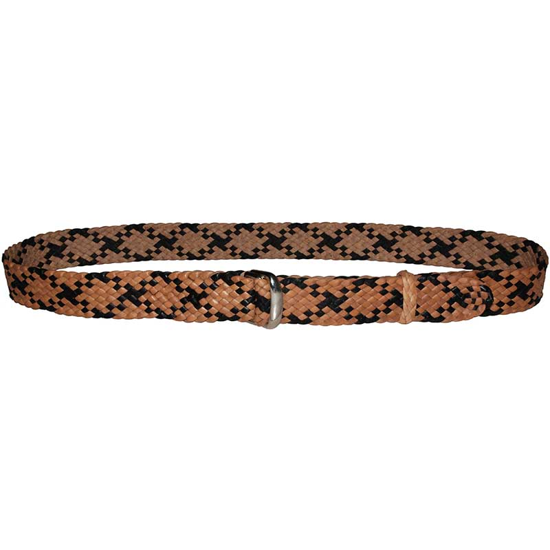Cinch Ring Belt, One Inch, Two-Tone