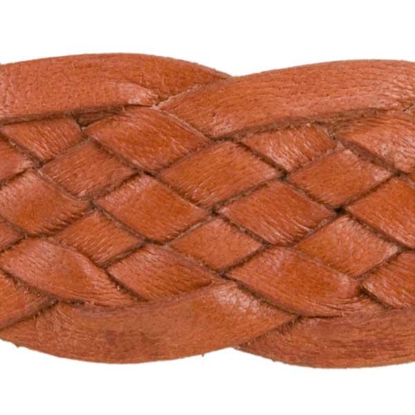 Detail of Fancy Edge Hat Band, Natural Tan