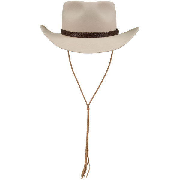 Stampede String -- for hats without chin strap hooks   David Morgan 8b119bb36b5c