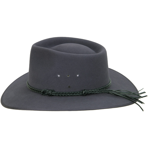 Black Double Round Hat Band (shown on the Cattleman hat)