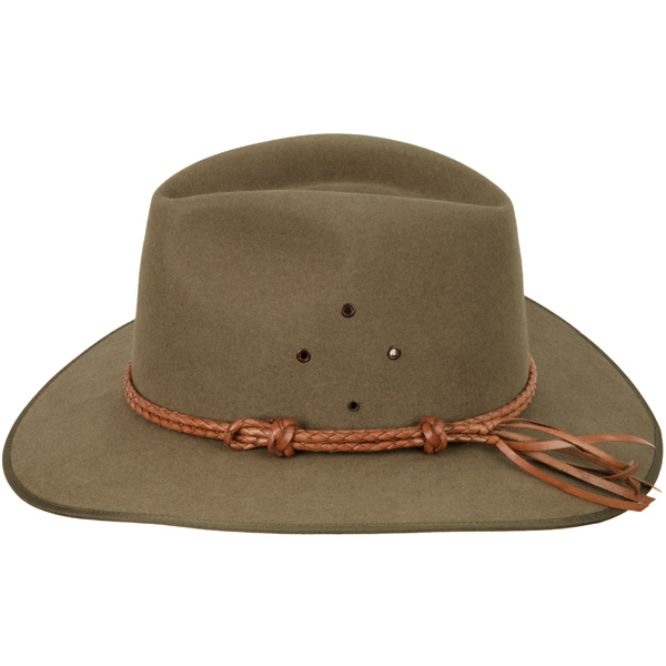 Natural Tan Double Round Hat Band (shown on the Coober Pedy hat)