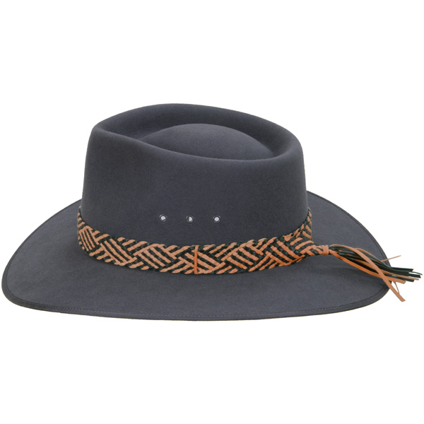 Hat Band, 14 plait (shown on the Cattleman hat)