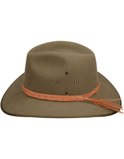 Center Strand Hat Band