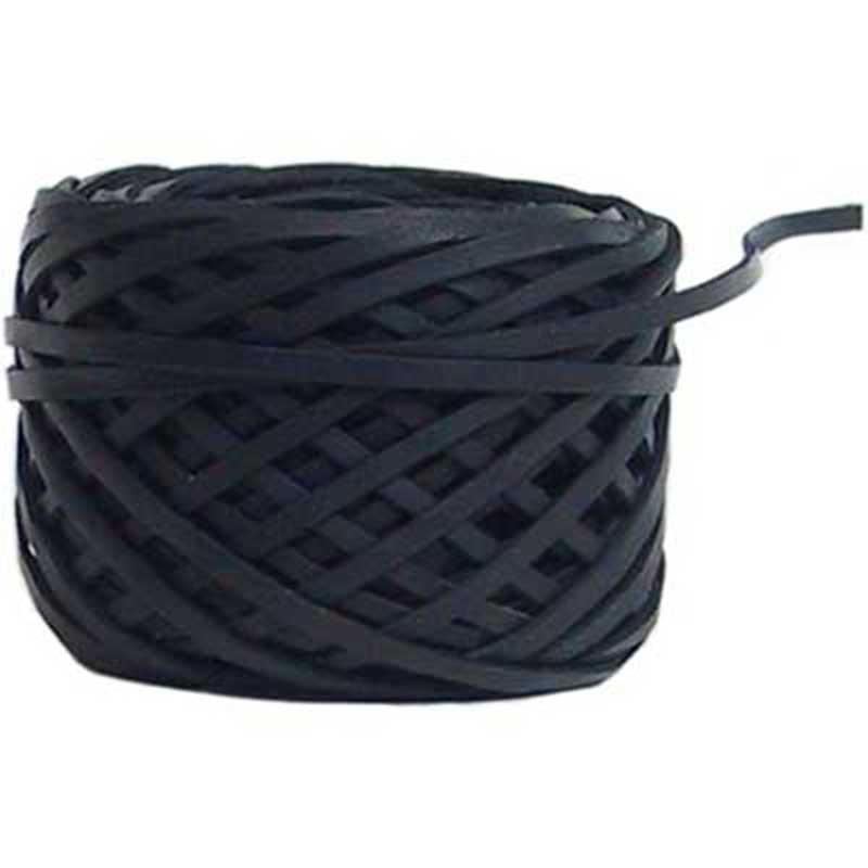 1/8 inch Kangaroo Lace, Black