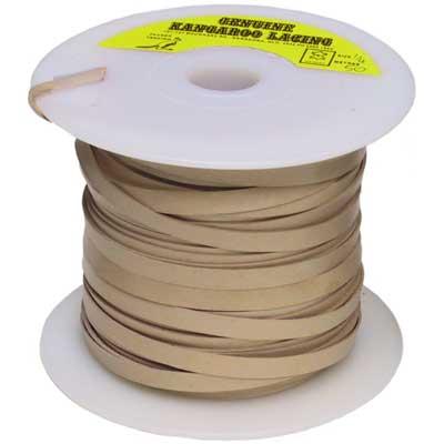 Tan 6 mm Machine Cut Lace, 50 m roll