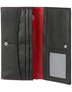 Women's Clutch, Kangaroo Leather
