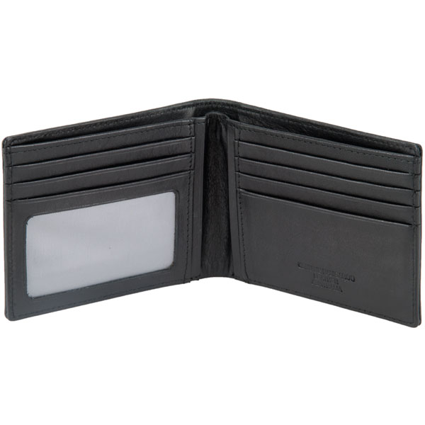Ten Pocket Wallet with Photo Section by Adori, Black