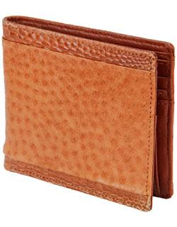 Six Pocket Wallet, Emu Leather