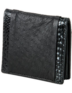 Coin Pouch, Emu Leather
