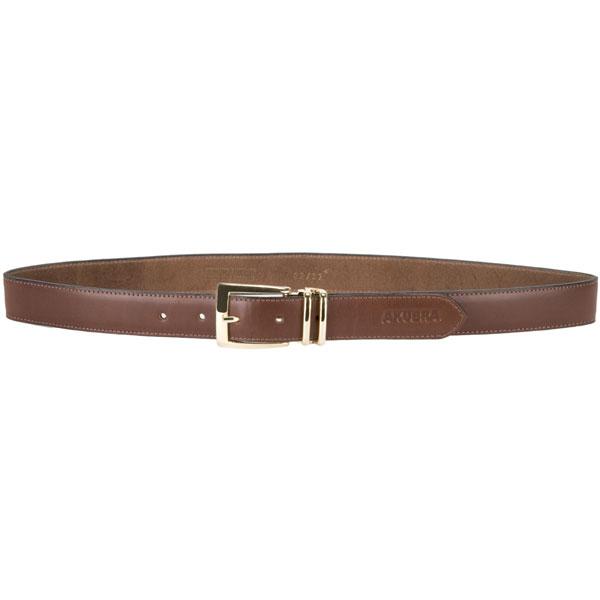 Sydney Leather Belt by Akubra, Tan