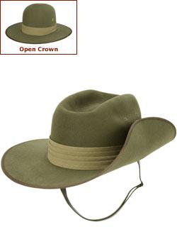 Aussie Slouch Hat (Open Crown)