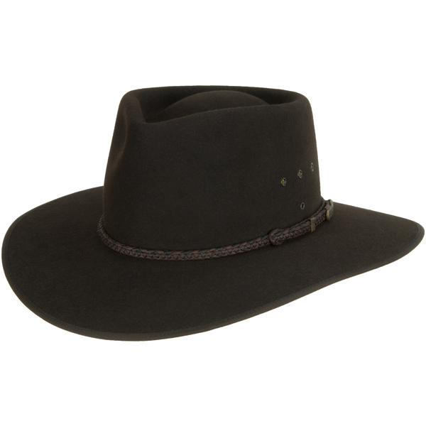 Cattleman Hat by Akubra, Dark Brown
