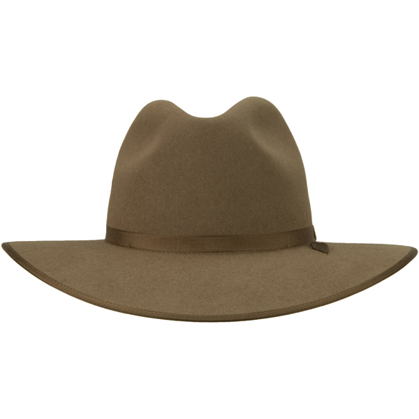 Coober Pedy Hat by Akubra, Fawn, Front View