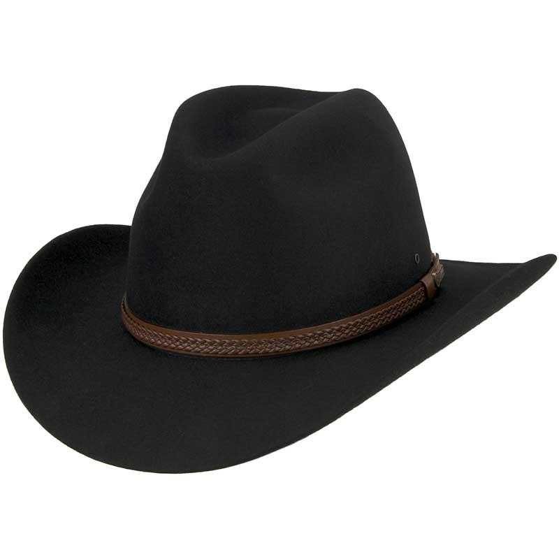 Kiandra Hat by Akubra, Black