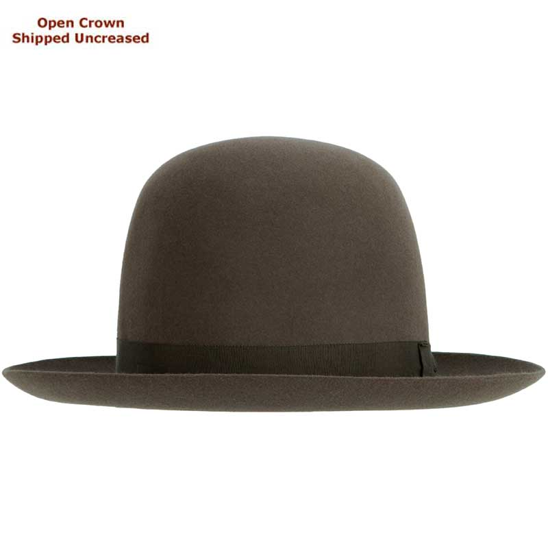 Sydney Hat by Akubra, Regency Fawn, Open Crown  : Open crown hats are shipped uncreased, allowing you to put your own personal bash or crease in the crown.