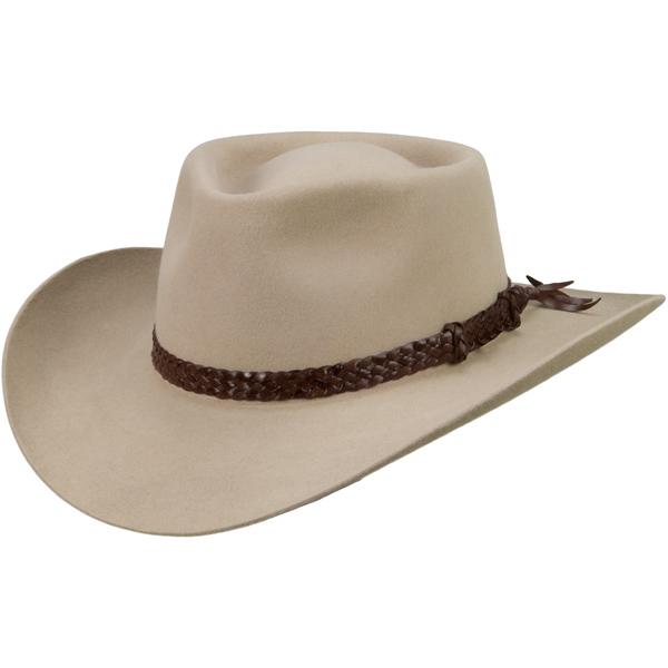 The Overlander Hat by Akubra, Sand