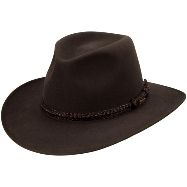 Lawson Hat by Akubra, Dark Fawn