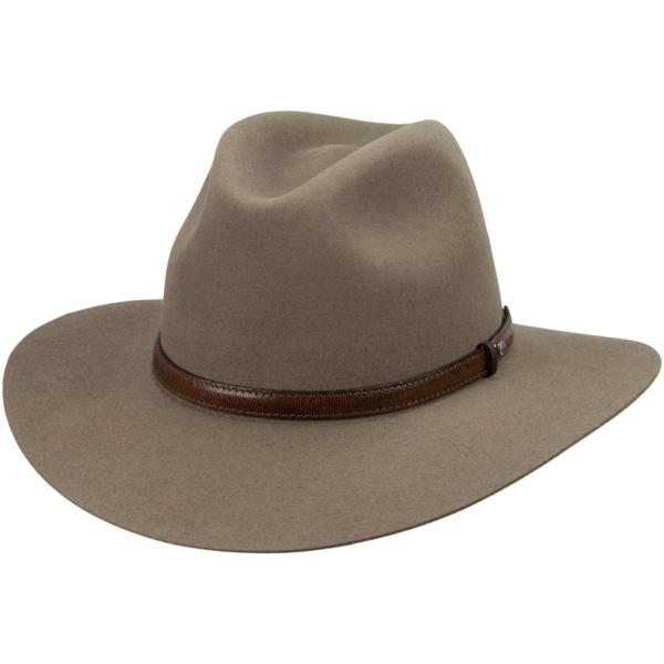 Lightning Ridge Hat by Akubra, Heritage Fawn