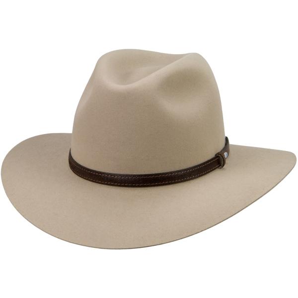Lightning Ridge Hat by Akubra, Sand