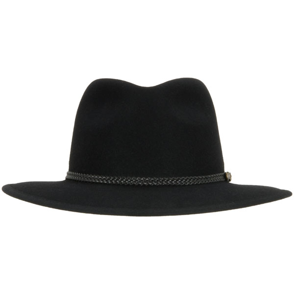 Traveller by Akubra, Black, Front View