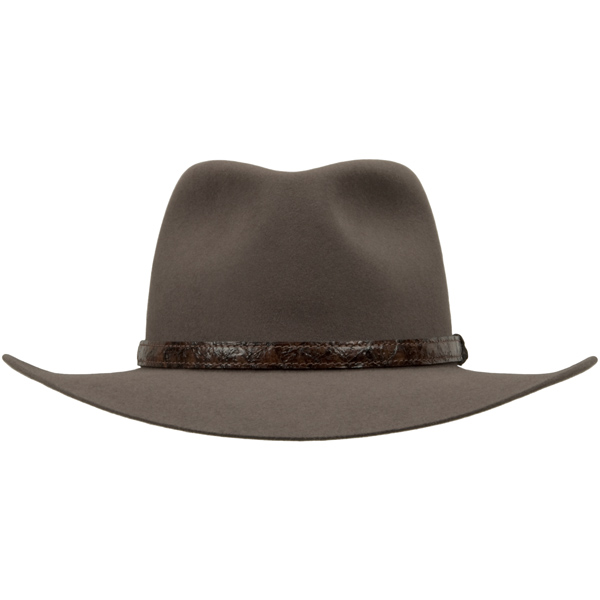 Angler Hat by Akubra, Regency Fawn, Front View