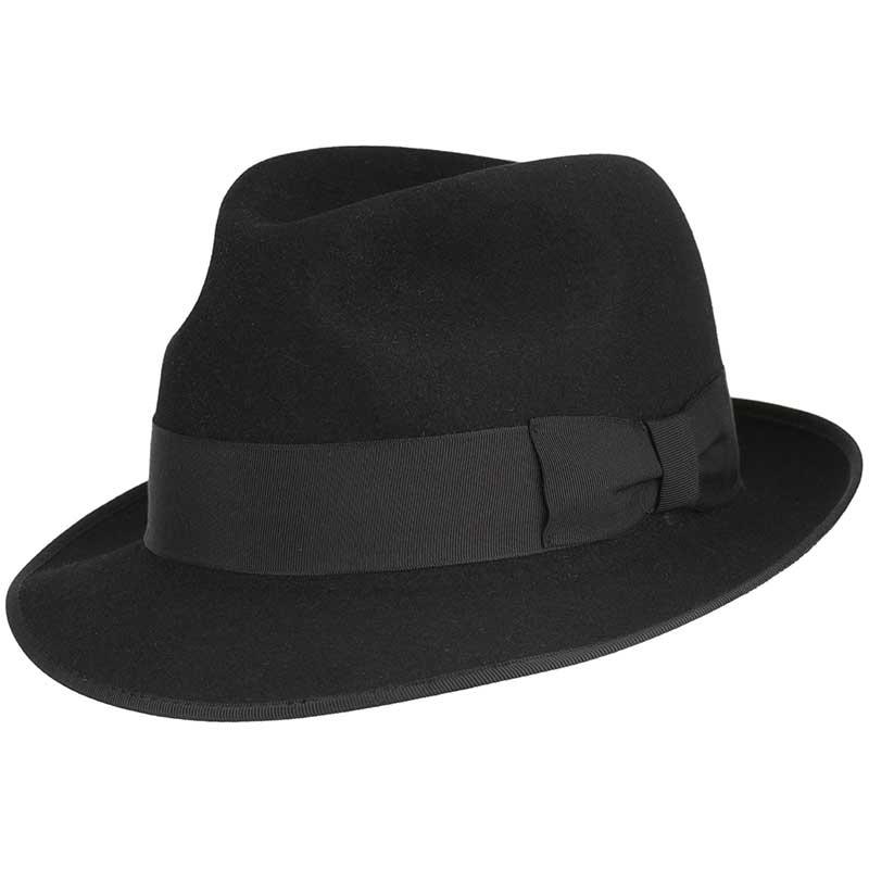 Hampton Hat, Black, by Akubra