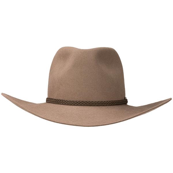 Mansfield High Country Hat by Akubra, Nullarbor Tan