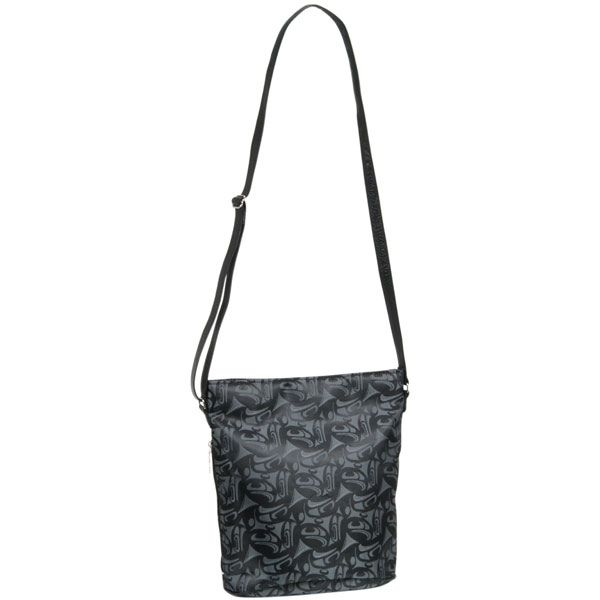 3 Eagles Urban Bag :  The leather strap adjusts from 26 inches to 52 inches.