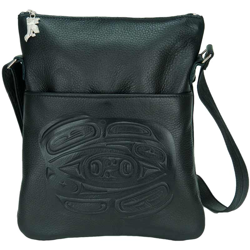 Leather Solo Bag by Corrine Hunt