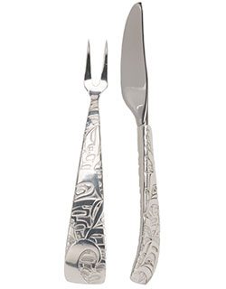 Pate Knife and Fork