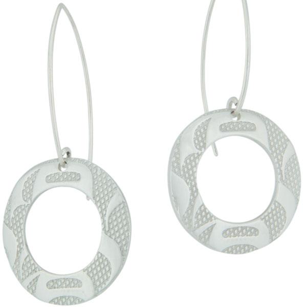 Equilibrium Earrings by Corrine Hunt.